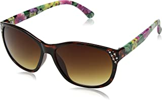 Southpole Boys 212SP TSP Cateye Sunglasses, Tortoise & Print, 58 mm