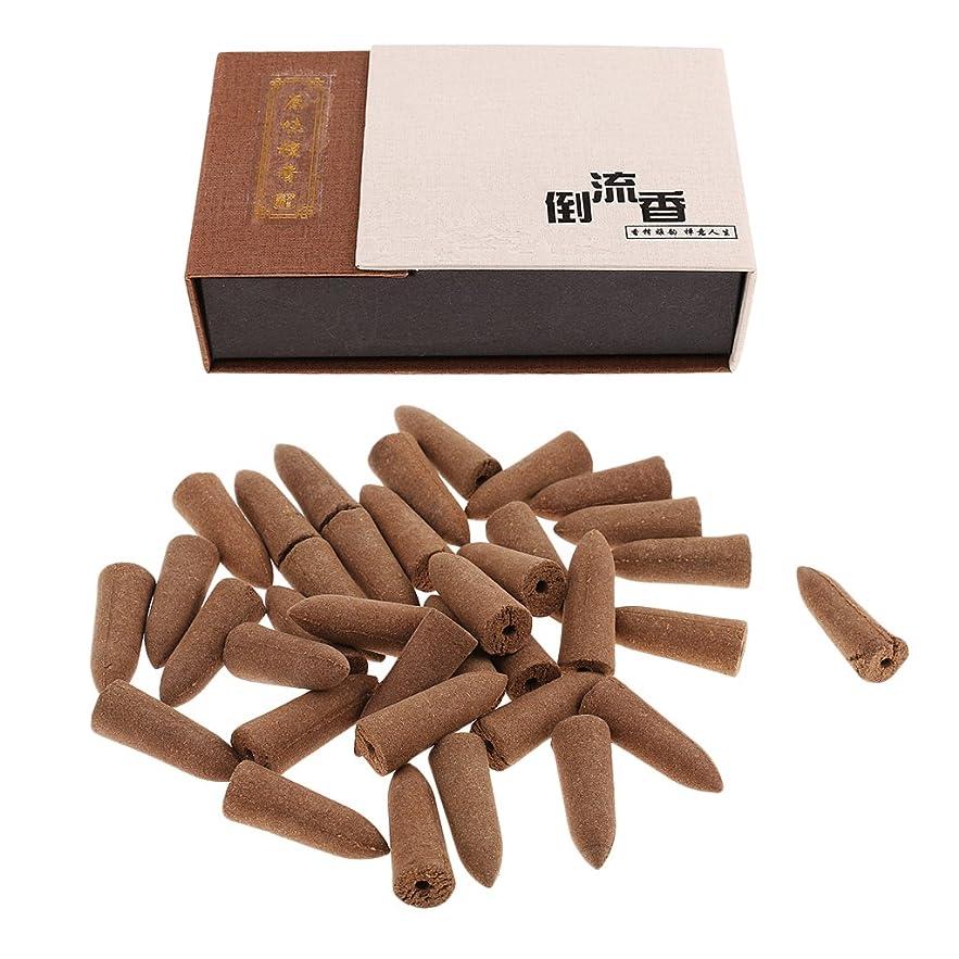 やむを得ないローブ学期SunniMix お香 逆流香 コーン 20分間 36個セット 4種選択  仏壇 香炉  - アガーウッド