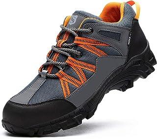 Steel Toe Shoes for Men Women Work Slip Resistant...