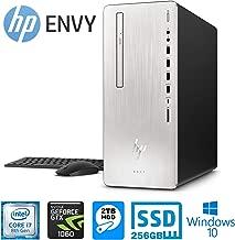 HP Envy 795 Desktop PC - Intel Core i7-8700 6-Core 16GB 2TB 7200 RPM HDD+256GB SSD NVIDIA GeForce GTX 1060 3 GB GDDR5 (Renewed)
