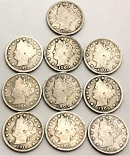 10 Different Date Liberty