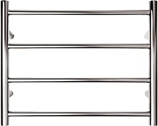 Forme Bathroom Collection 4 Bar Round Heated Towel Rail Multi Connect