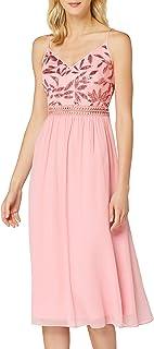 Amazon-Marke: TRUTH & FABLE Damen Midi-Chiffon-Kleid