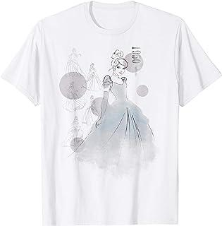 Disney Cinderella 1950 Vintage Fashion Sketch T-Shirt