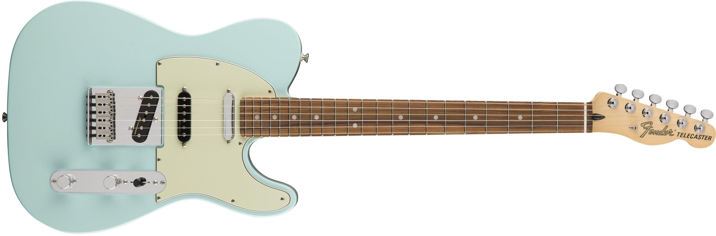 Cheap Fender Deluxe Nashville Telecaster Electric Guitar - Pau Ferro Fingerboard - Daphne Blue Black Friday & Cyber Monday 2019