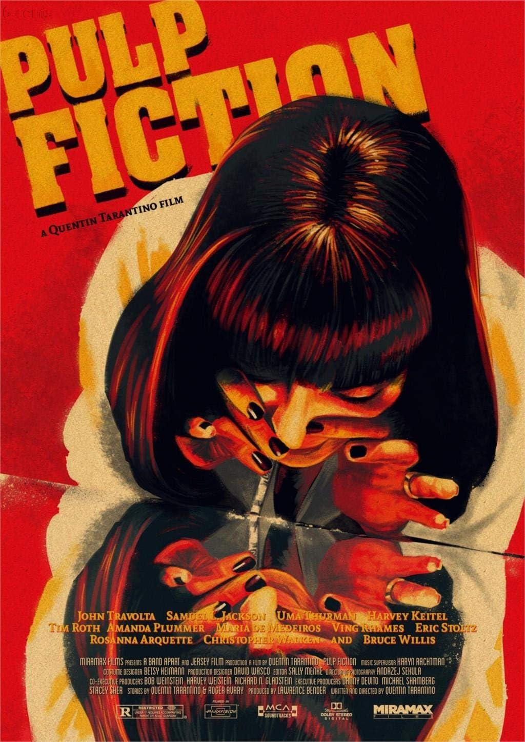 Pulp Fiction, Filmplakate, Kraftpapierplakate, Wandaufkleber ...