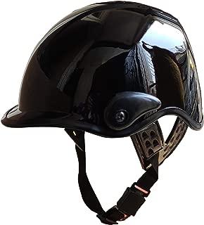 Adroitz AD-VSTARK Half Face Helmet (Black, M)