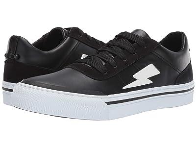 Neil Barrett Thunderbolt Skater Sneaker (Black/White) Men