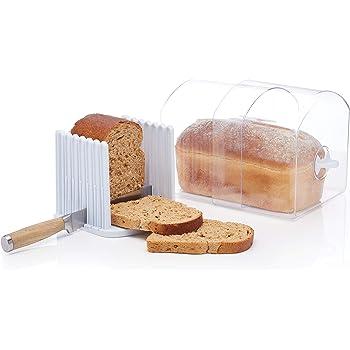 KitchenCraft Stay Fresh - Contenedor expandible con guía para ...