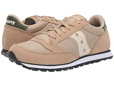 Saucony Originals Jazz Low Pro (Khaki/Green) Men