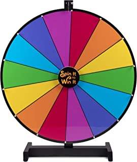 """Brybelly Spin it to Win It Jumbo Prize Wheel, 24"""" 