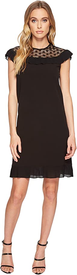 Tahari by ASL - Plisse Pleat Dress