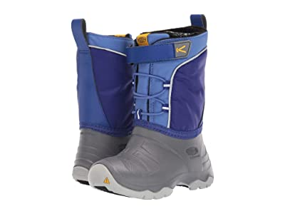 Keen Kids Lumi Boot WP (Toddler/Little Kid) (Bright Blue/Steel Grey) Kids Shoes