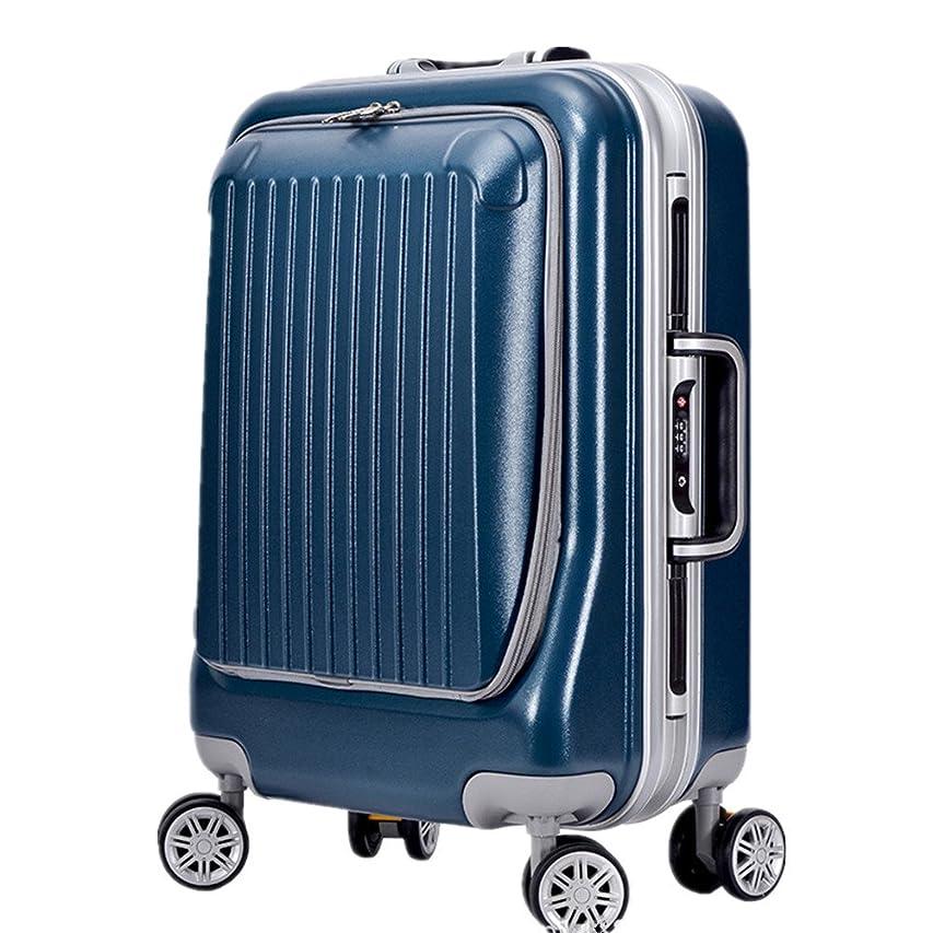 ソーセージデンプシー数字スーツケース ポータブルビジネス旅行荷物箱大容量旅行アルミニウムフレーム荷物箱圧縮とアンチドロップユニバーサルホイールストレージスーツケースは、ビジネス旅行ビジネスに非常に適しています 圧縮服スーツケース (色 : ブロンズ)