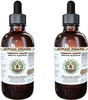 Oregon Grape Alcohol-Free Liquid Extract, Oregon Grape (Mahonia aquifolium) Dried Root Glycerite 2x4 oz