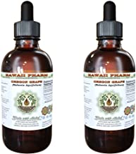 Oregon Grape Alcohol-FREE Liquid Extract, Oregon Grape (Mahonia aquifolium) Dried Root Glycerite Natural Herbal Supplement, Hawaii Pharm, USA 2x4 fl.oz
