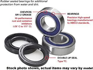 Stock Photo Manufacturer Part Number: 25-1433-AD 1998-2000 Arctic Cat 400 4x4 WHEEL BEARING KIT REAR Manufacturer: ALL BALLS Actual parts may vary.