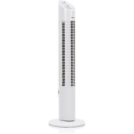 Tristar VE-5905 Ventilateur colonne – 73 cm – Minuterie, Blanc