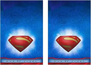 Man of Steel Superman Plastic Tablecovers - 2 Pieces by Hallmark
