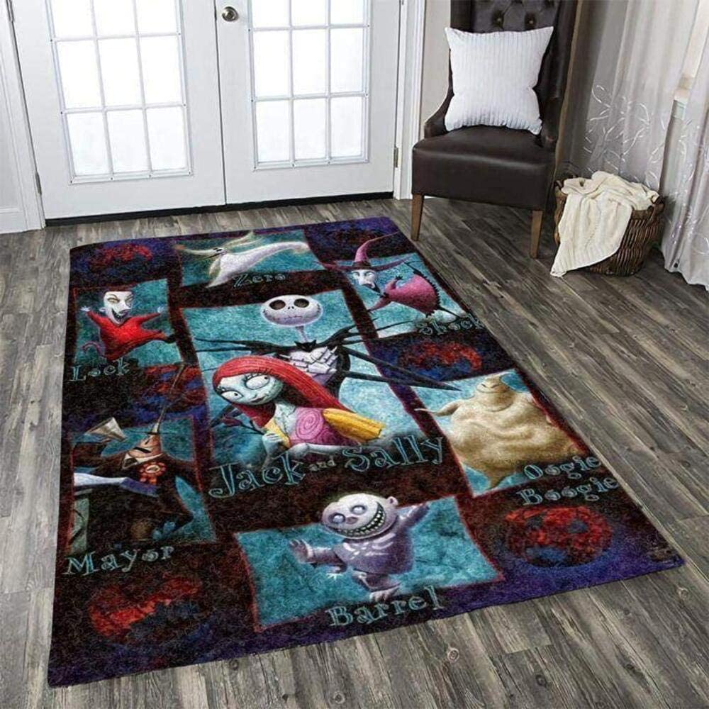 The Nightmare Before Christmas Free Shipping New Jack Area Rug Max 63% OFF Skellington