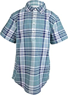 Janie And Jack Boy's Madras Plaid Shirt Button-Down & Dress