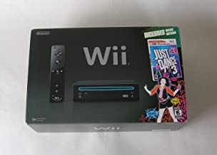 Nintendo Wii Console with Just Dance 3 Bundle - Black photo