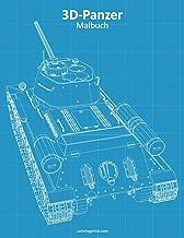 3D-Panzer-Malbuch (German Edition)