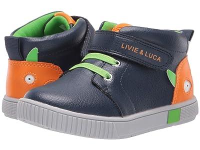 Livie & Luca Sneak (Toddler/Little Kid) (Navy) Boy