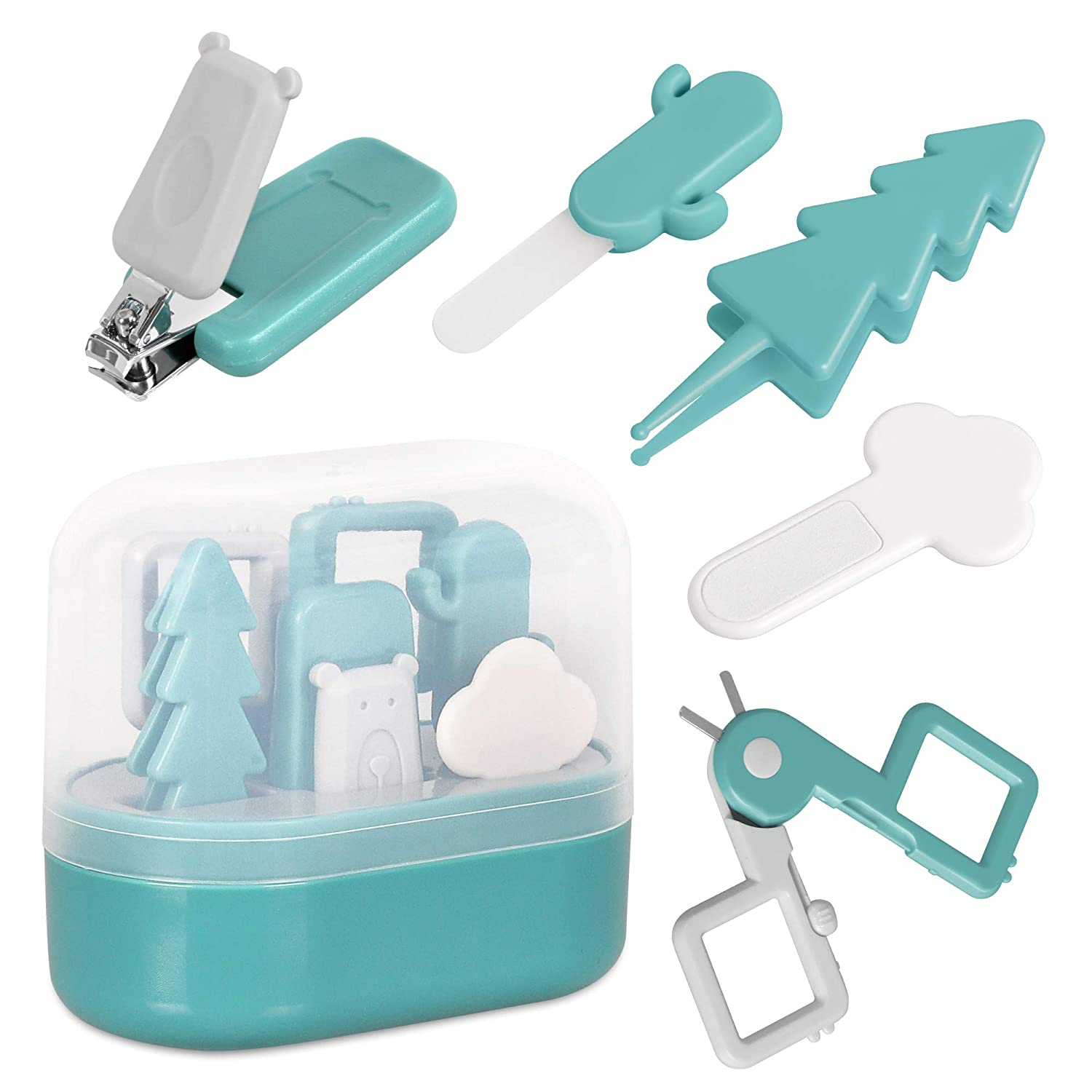 Ranking TOP12 TILLYOU Baby Nail Kit- 5 Max 81% OFF 1 Including Care in Set