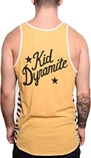 Roots of Fight Officially Licensed Tyson Kid Dynamite Striped Tank