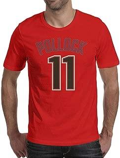 Man T Shirt AJ-Pollock-11- T-Shirt Graphic Fitness Cotton Short Sleeve