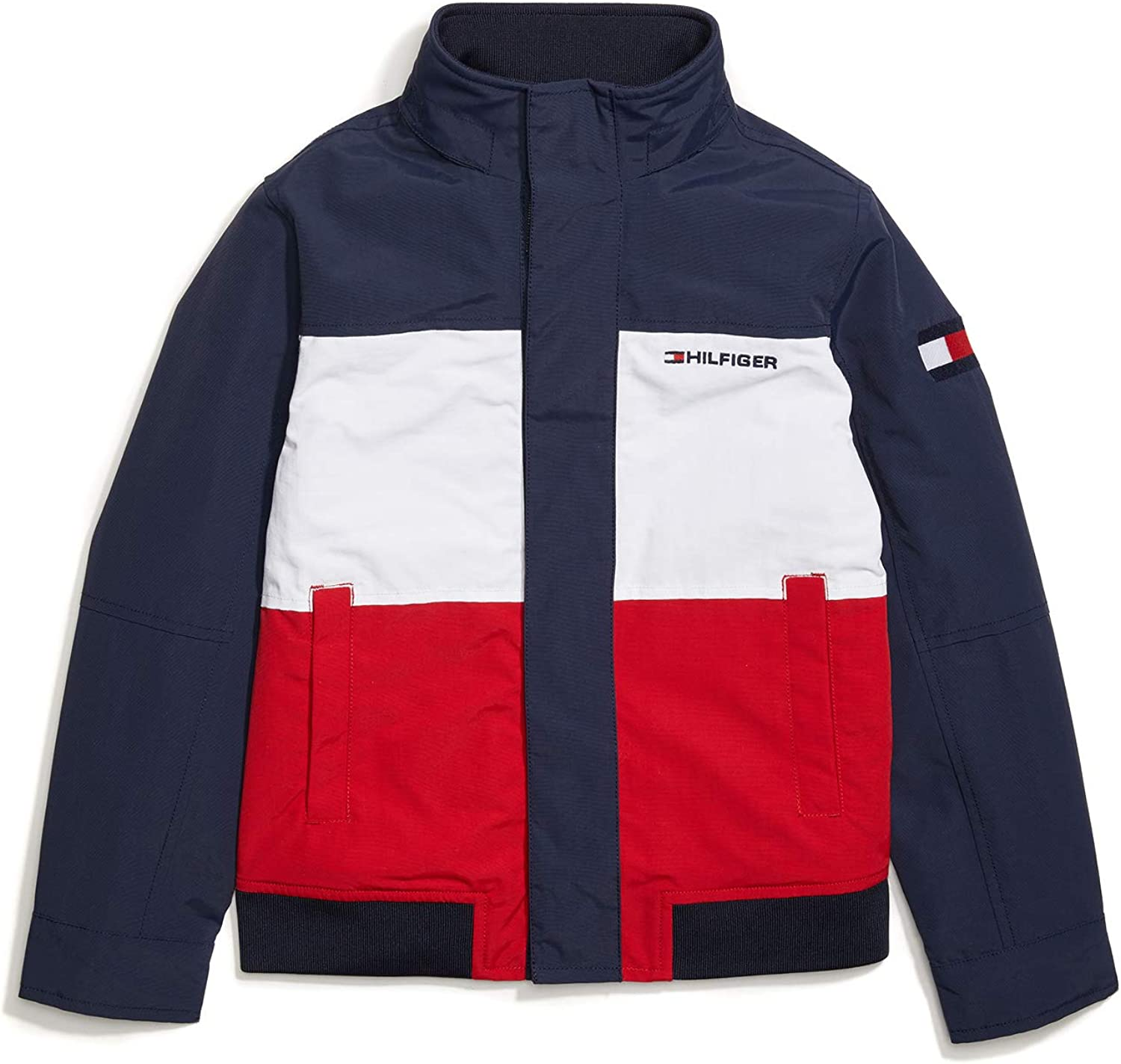 Tommy Hilfiger Boys' Adaptive Yacht Large-scale sale Today's only Buttons Magnetic Jacket with