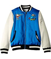 Stella McCartney Kids - Reversible Character Bomber Jacket (Toddler/Little Kids/Big Kids)