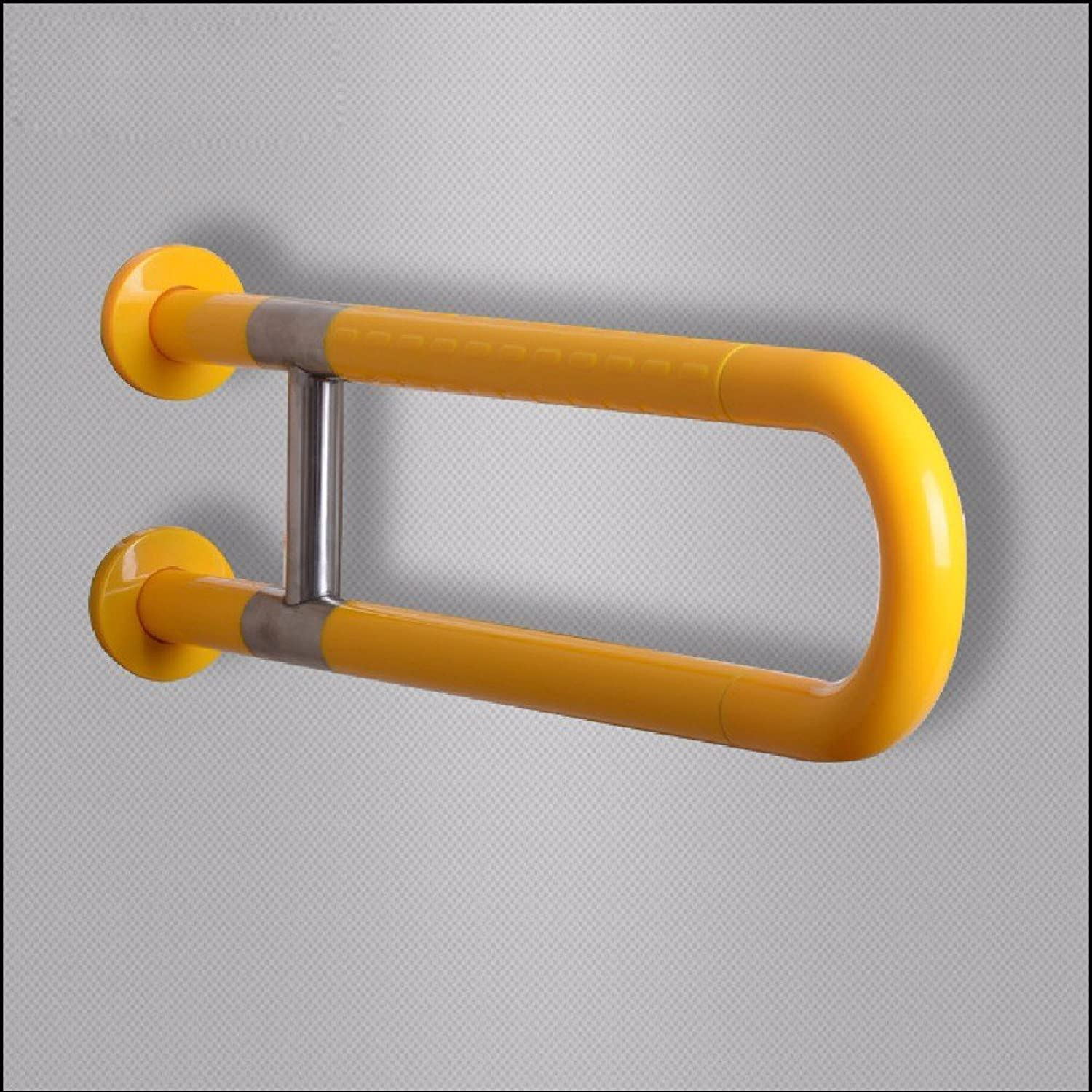 HQLCX Handrail Toilet U Type Bathroom Safety Old People Disabled Handrail,Yellow