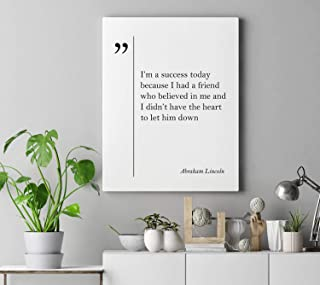 Canvas Wall Art Prints Lucille Ball Quote Motivation Poster Lucille BallInspirational Motivational Teen Lucille Ball Minimalist Ready to Hang Printing Gift for Home Decoration 12x16