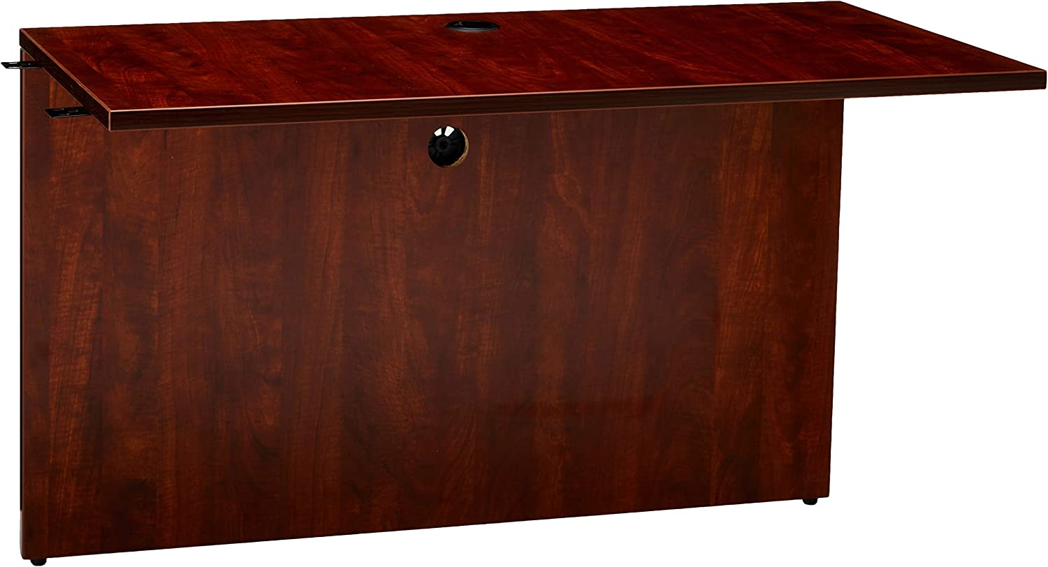 Lorell Laminated Bridge, 48 by 24 by 29-1 2-Inch, Cherry