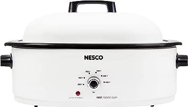 NESCO MWR18-14 Roaster Oven 18 Quarts, White
