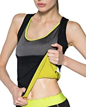 IFLOVE Women's Body Shaper Hot Sweat Slimming Sauna Vest Neoprene Shapewear for Tummy Fat Burner Weight Loss
