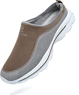 CELANDA Women's Men's Slip-On Garden Clogs Warm Leisure Shoes Lightweight Sneakers Non-Slip Fitness Shoes Outdoor Low-Top ...