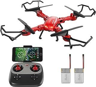 GoolRC Drone con Fotocamera HD 720P T5W PRO 2.4G 4CH WiFi FP