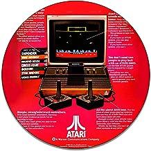Brotherhood Atari System Pitfall II Atari 2600 Advertisement Vintage Games Toys Reproduction Vintage Style Signs Round MDF Wood Pressed Sign Garage Home Decor