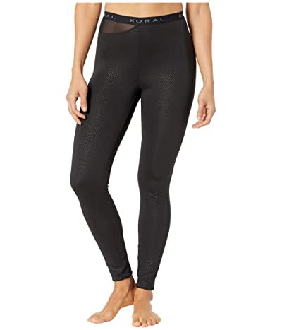 Koral Eros Etch High-Rise Leggings (Black) Women