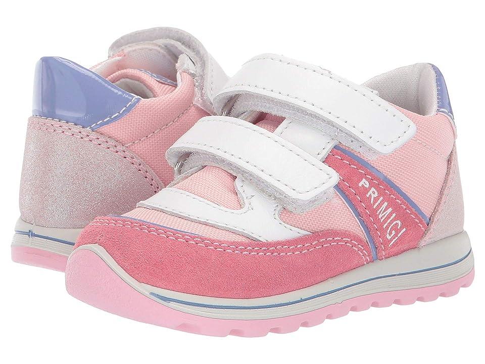 Primigi Kids PTI 33721 (Toddler) (White/Pink) Girl