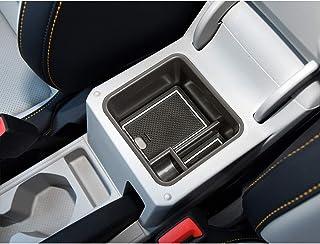LFOTPP T Cross SUV Handschuhfach Armlehne Aufbewahrungsbox Center Console Armrest Storage Box Innen (Weiß)