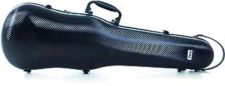 PURE GEWA Estuche de violín con forma Policarbonato 1.8 negro para tamaño 4/4