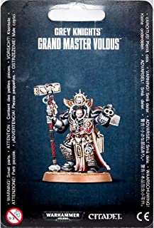 "GAMES WORKSHOP 99070107001"" Grey Knights Grand Master Voldus Miniature"