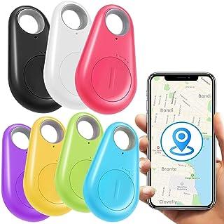 [New Upgraded]7 Pack Key Finder Smart Tracker,Wireless Anti-Lost Alarm Sensor Item Finder GPS Tracker Locator for Kids Pet...
