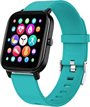 """Gushull Fitness Tracker with Heart Rate Monitor,Smart Watch,1.3"""" Full Touch Screen Waterproof Smart Watch for Android Phon..."""