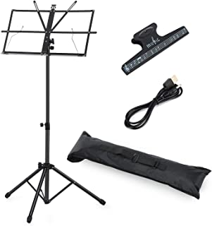 Best metal music stand folding Reviews