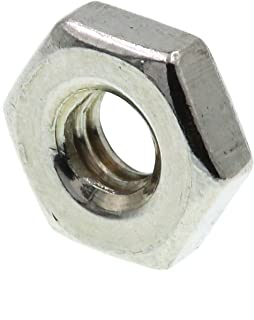 Qty 250 Stainless Steel Hex Machine Screw Nut Small Pattern #4-40